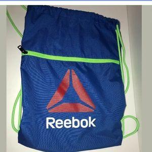 Reebok Drawstring Bookbag Blue